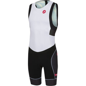Castelli Short Distance Combinaison de course Homme, white/black